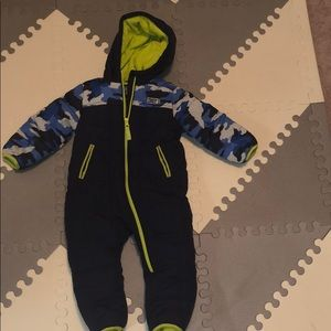 Boys waterproof snowsuit